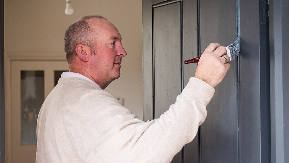 Lloyd Decorators Philip Painting Door